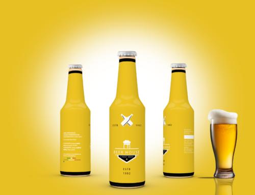 Birra bionda yellow