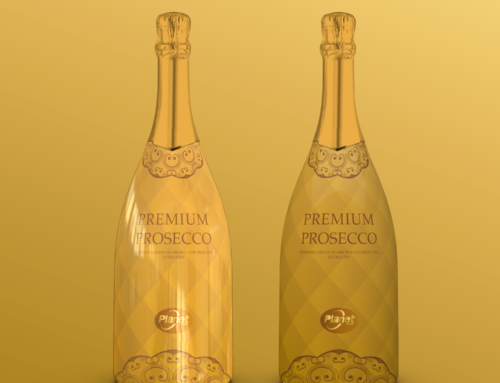 Premium prosecco oro/verde