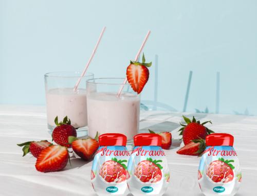 Yogurt alla fragola